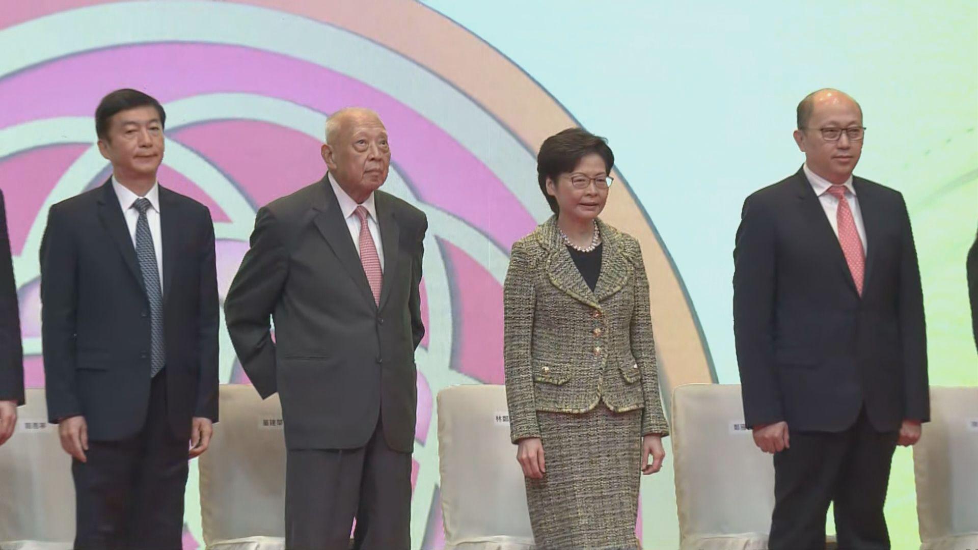 駱惠寧:須加強港人國家意識 維護一國才有兩制空間