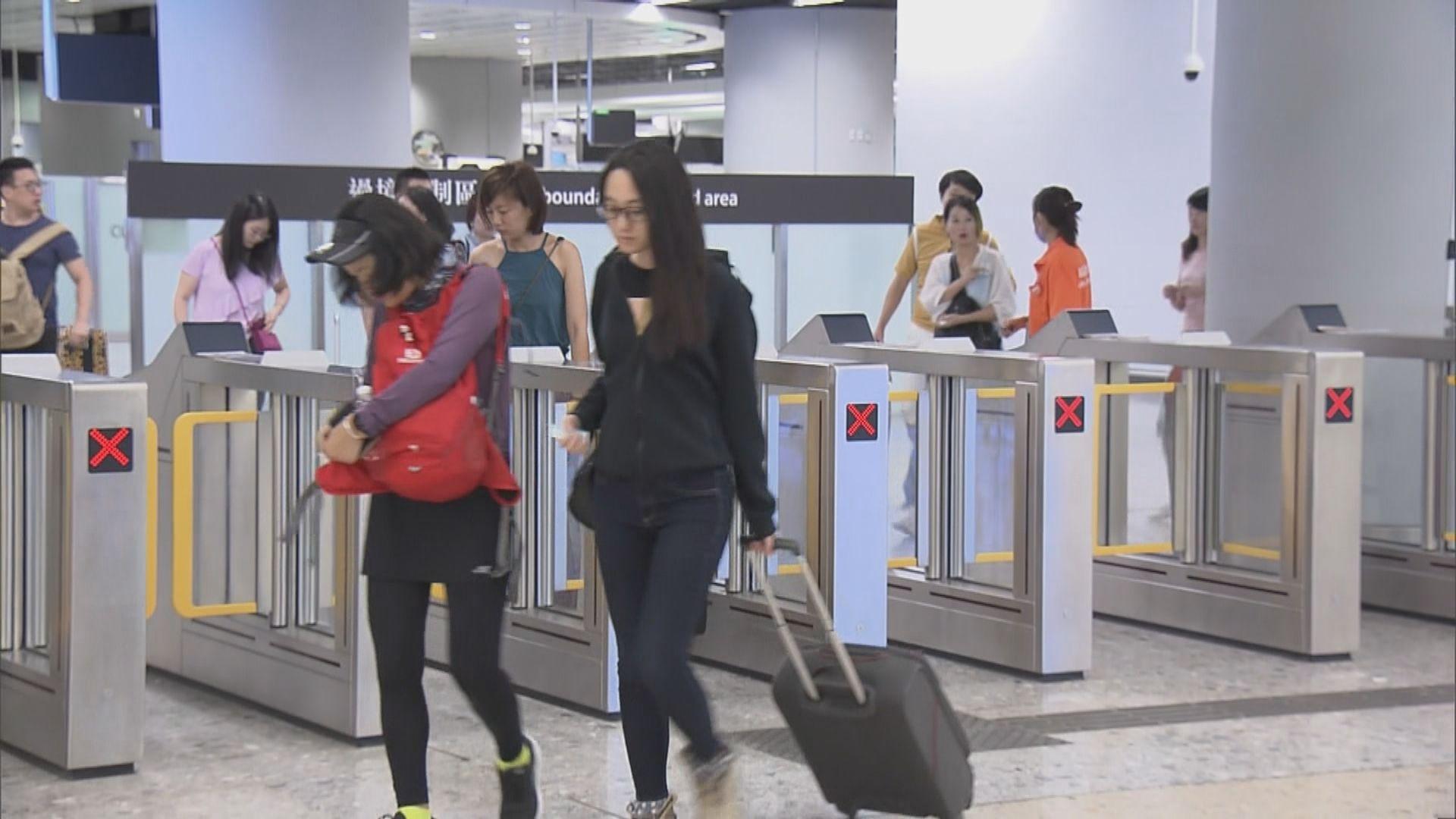 國慶日有7.8萬人次經高鐵進出香港