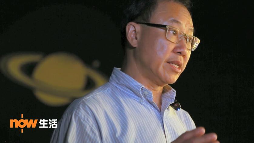 盲人觀星傷健營主席黃錦沛接受專訪,講述活動並不是「玩玩吓」。