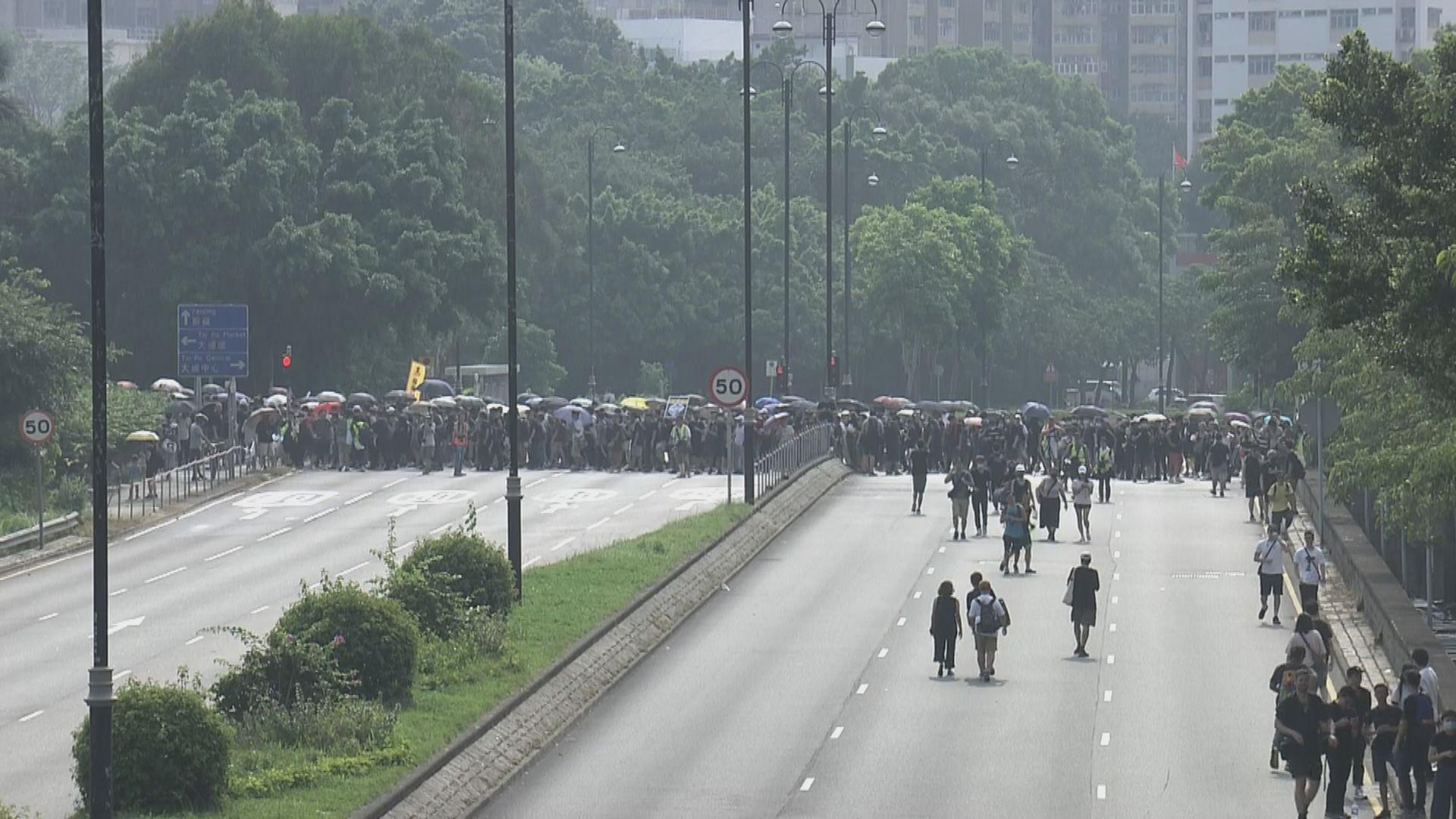 【現場報道】大批市民開始遊行 沿途暫未見警員