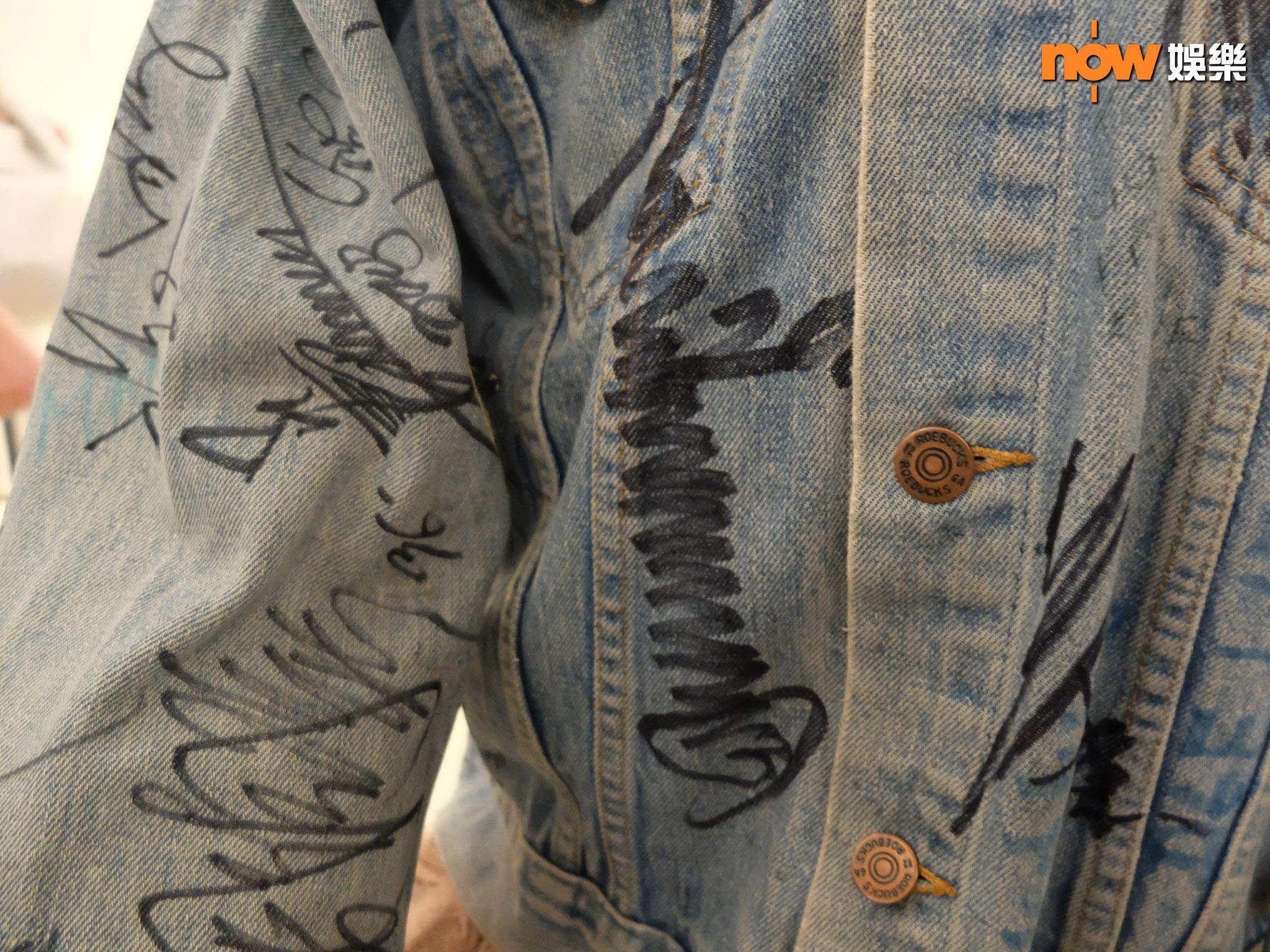 古天樂的招牌簽名。