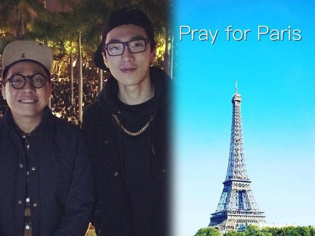 月前飛巴黎拍節目 農夫C君:Pray for Paris