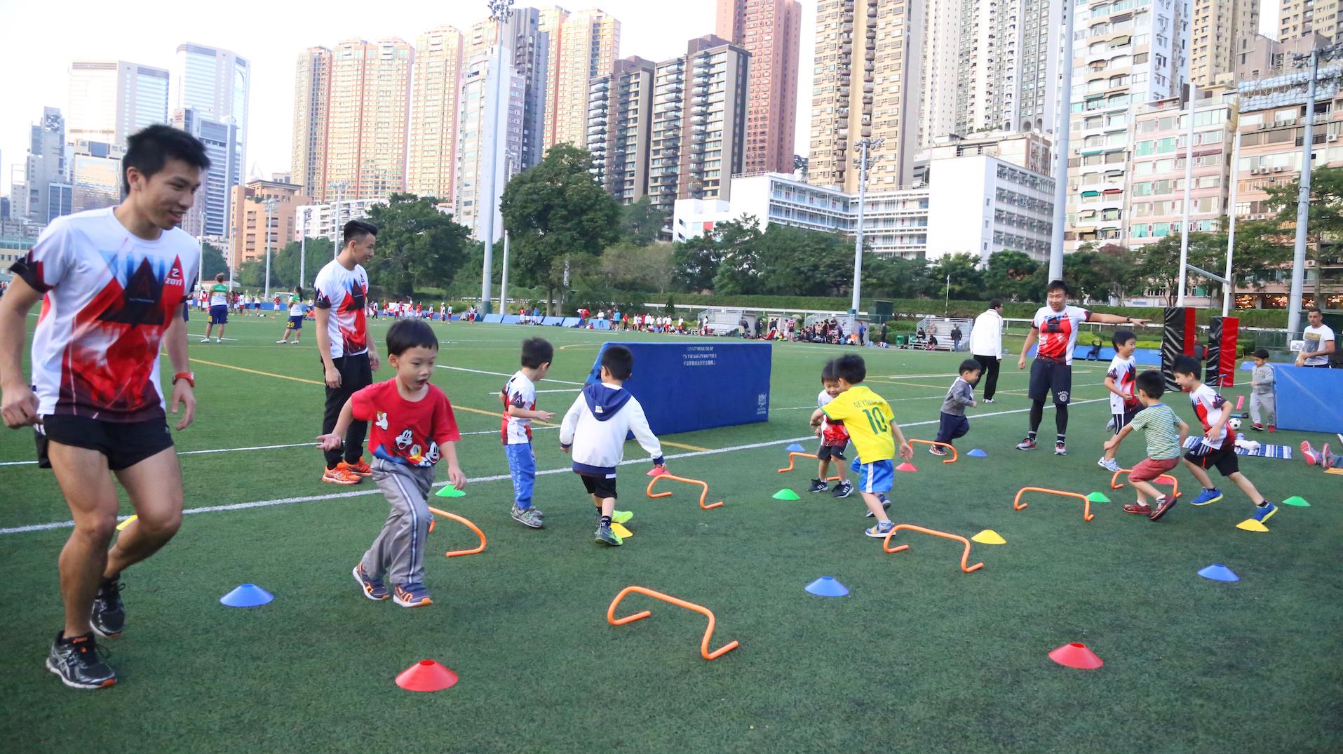 所有遊戲都以小朋友能開心跑為目標,唔遠、唔chur。