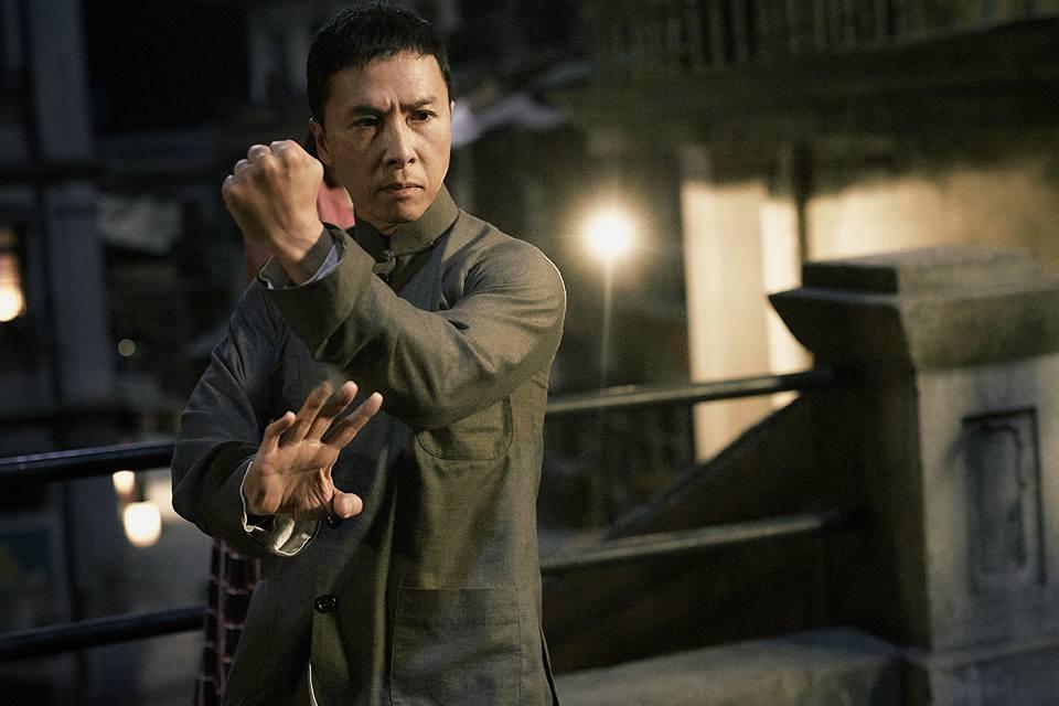 「宇宙最強」甄子丹就入圍爭最佳男主角。(Facebook圖片)