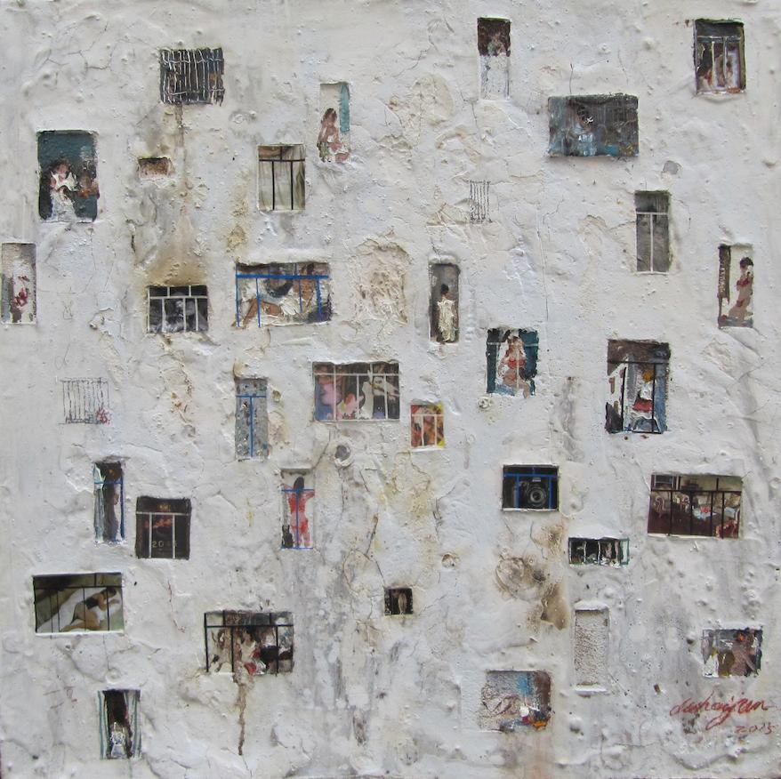 當中更有來自中國的藝術家,拿過多個獎項的杜海軍會帶來「剝落的牆之三」,窺視都市化的城市面貌。