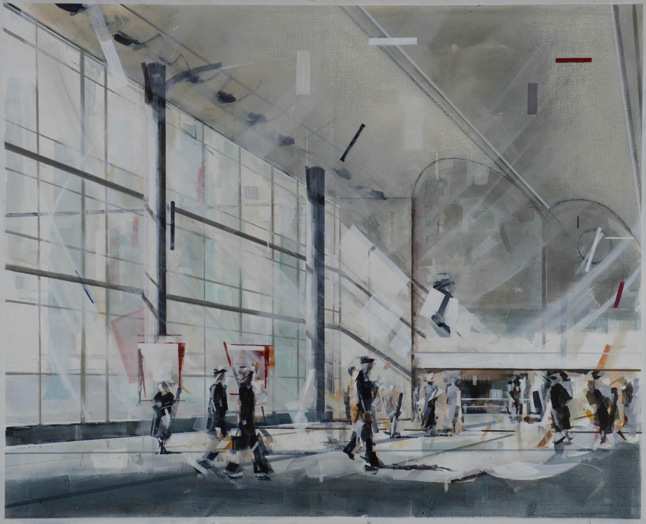 荷蘭視覺藝術家及攝影師Wessel Huisman畫作「June 1971」。