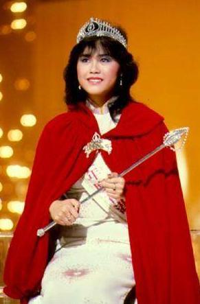 1983年 楊雪儀(當年亞軍為張曼玉)