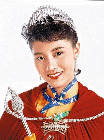 1988年 李嘉欣(當年亞軍為陳淑蘭)