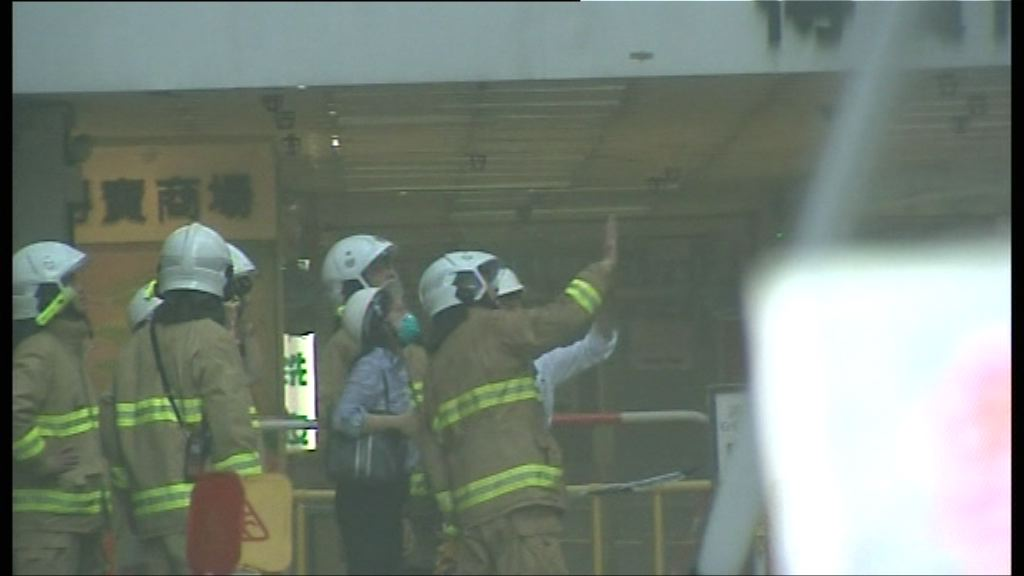 屋宇署聯同消防視察起火樓宇結構