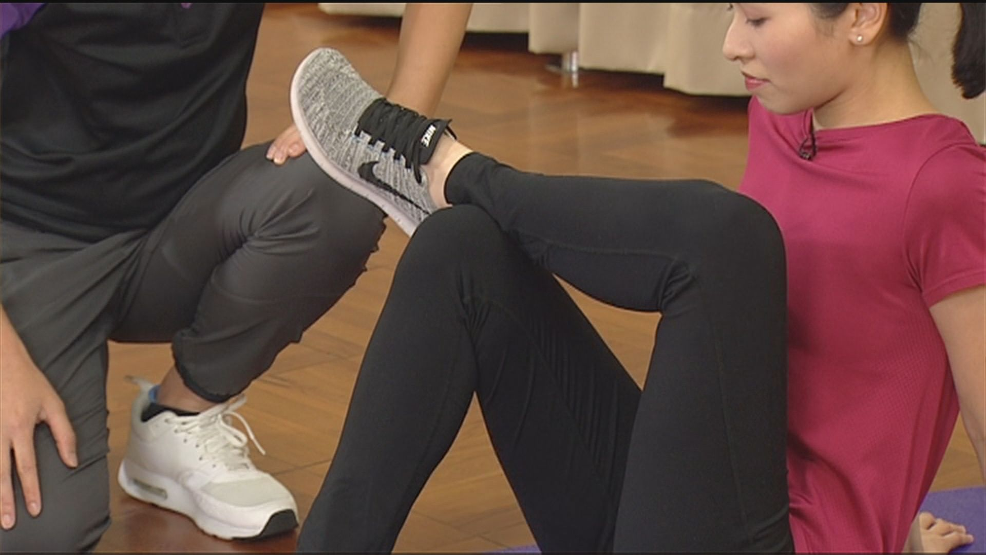 【杏林在線—健康1分鐘+】放鬆臀部肌肉