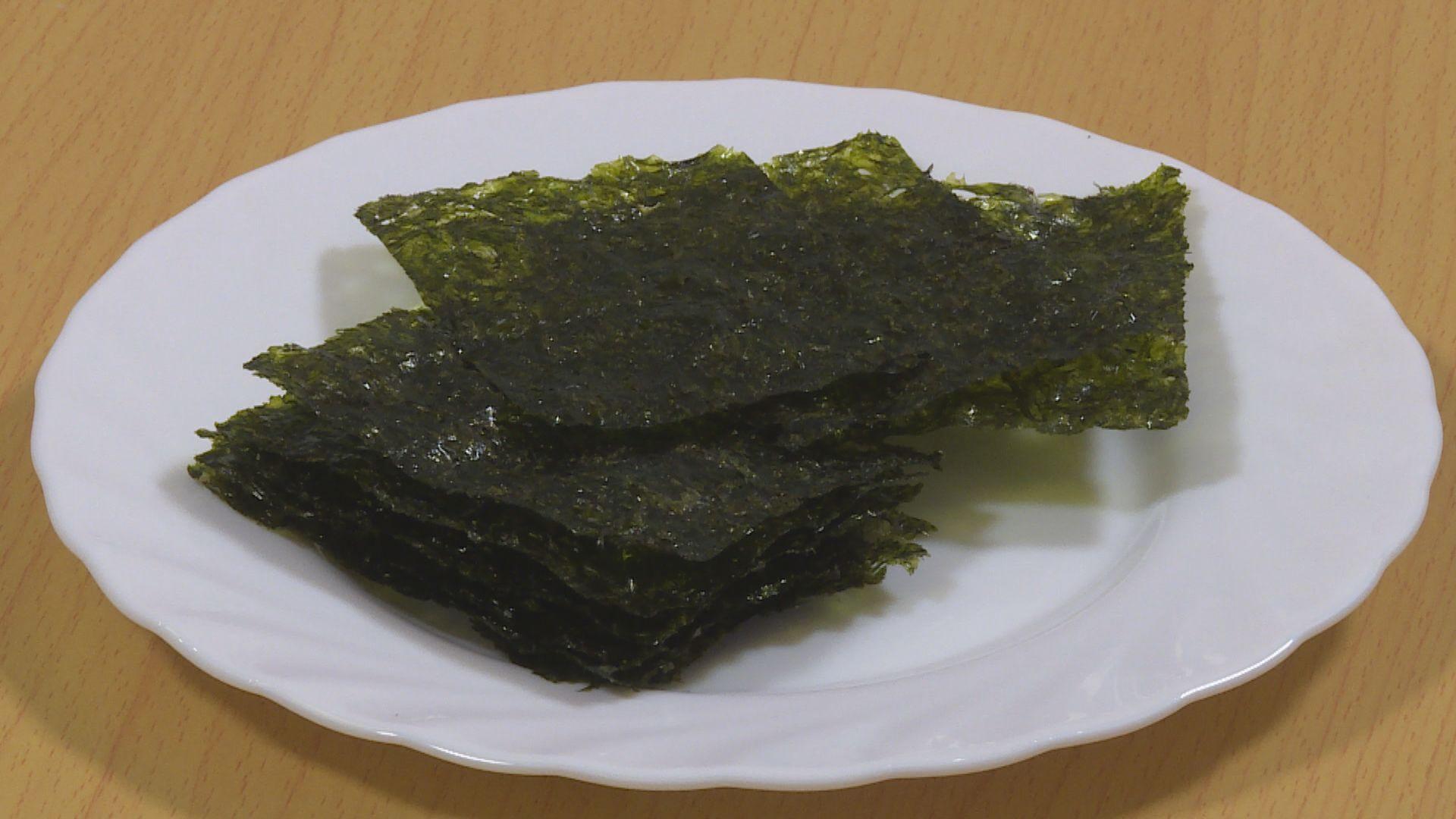 【杏林在線—健康1分鐘+】吃紫菜會患大頸泡嗎?