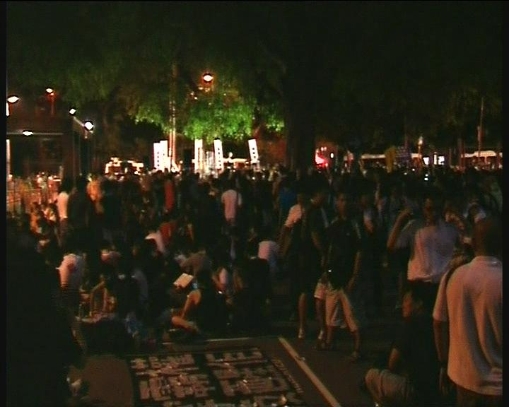民陣初步點算有15萬人參加七一遊行