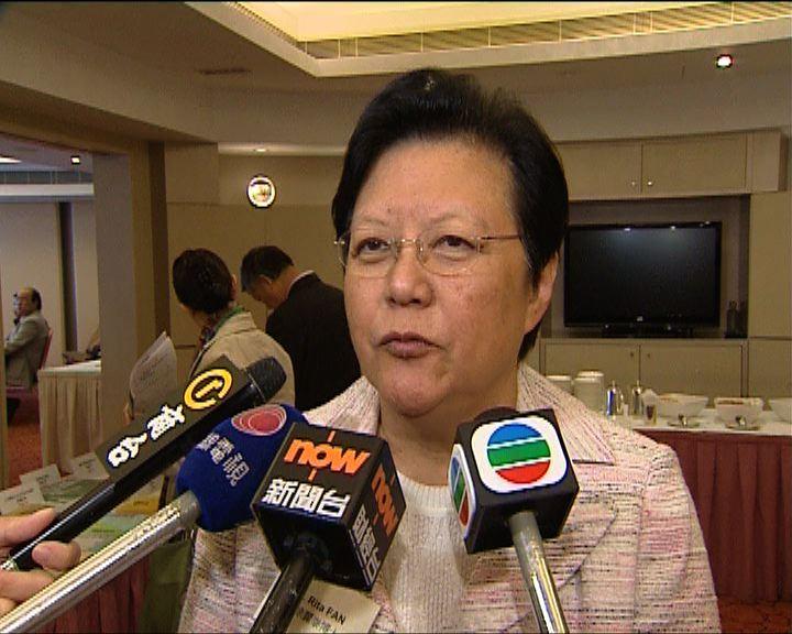 范徐麗泰:梁振英參與選委會選舉無衝突