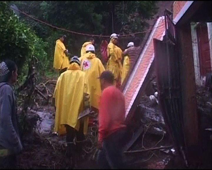 中美洲受暴雨侵襲逾六十死