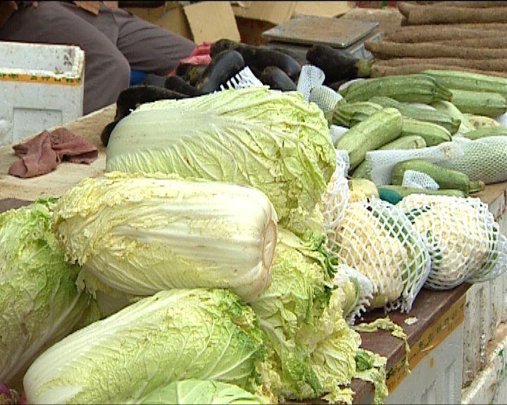 內地食品價格連續兩星期回落