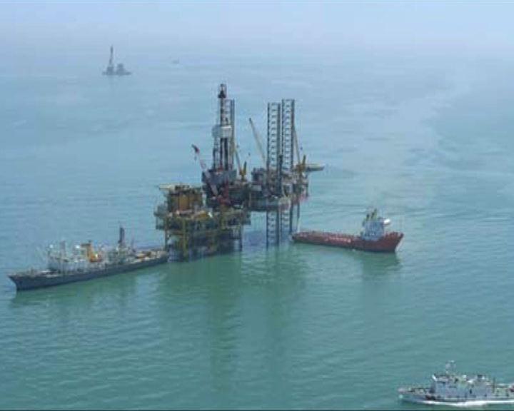 中國最大海上油田漏油