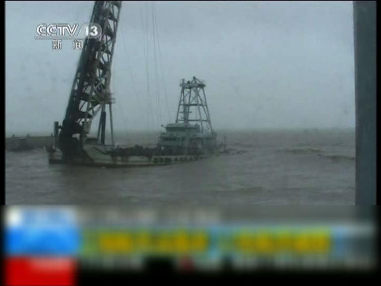 米雷致浙江、山東多艘船隻遇險