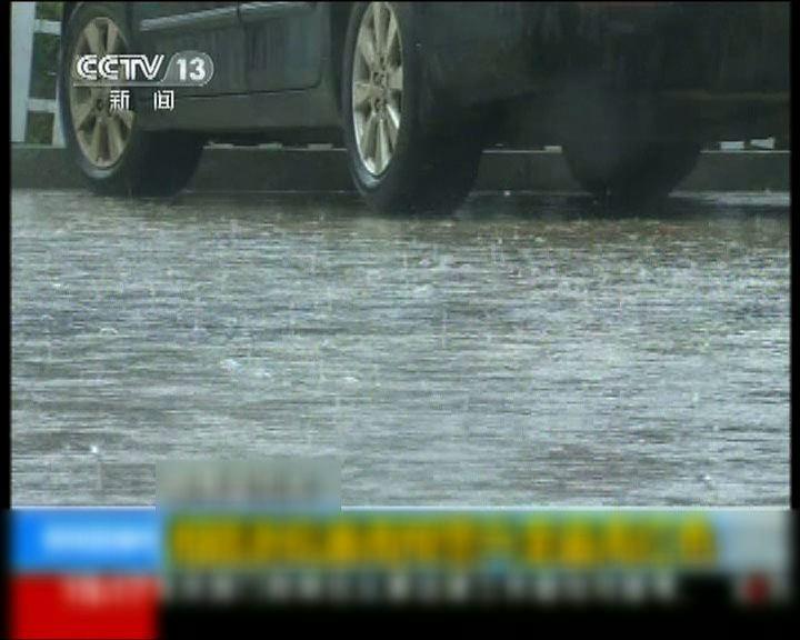 長江中下游地區暴雨持續