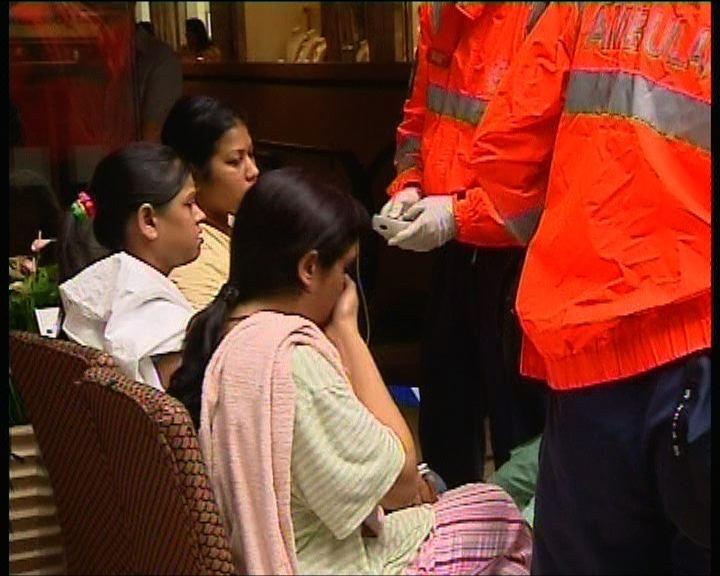 重慶大廈火警約70人疏散