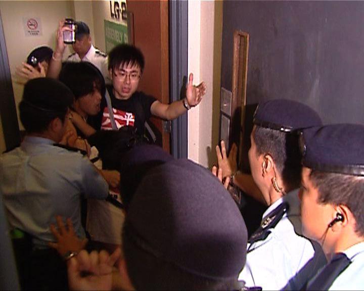 陳文敏:警方非法禁錮表證成立