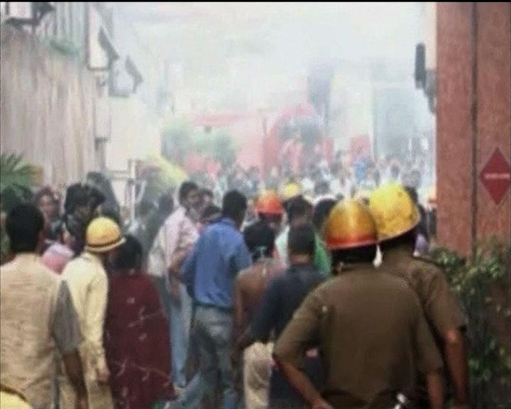 印度醫院火災職員置病人不顧