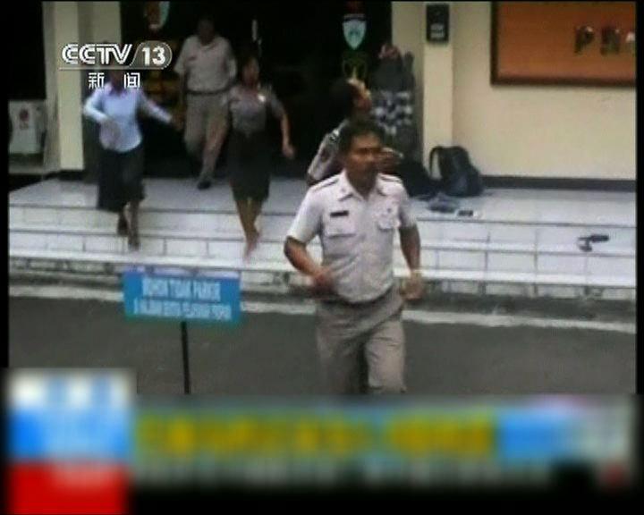 印尼峇里島6.2級地震數十傷