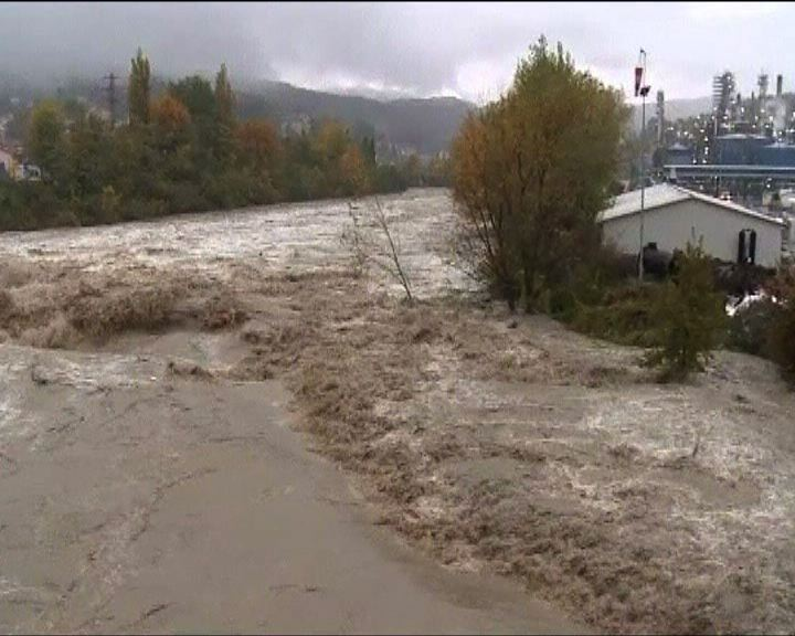 意大利多處受暴雨侵襲