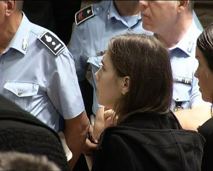 意上訴庭判美籍女留學生無罪