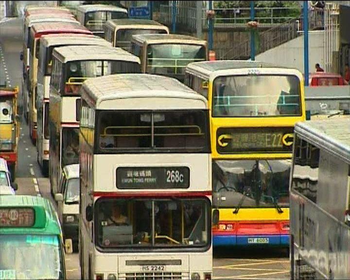 政府年底與巴士公司商討新專營權