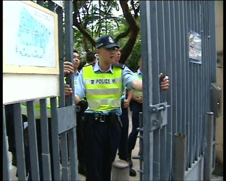 外傭爭居港權案衝突警方一度封閉維園