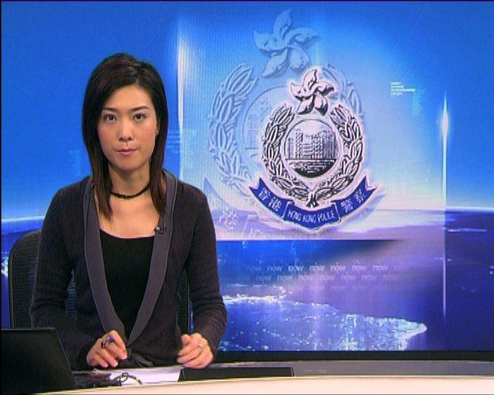 警察總部男子涉公眾滋擾及刑事毀壞被捕