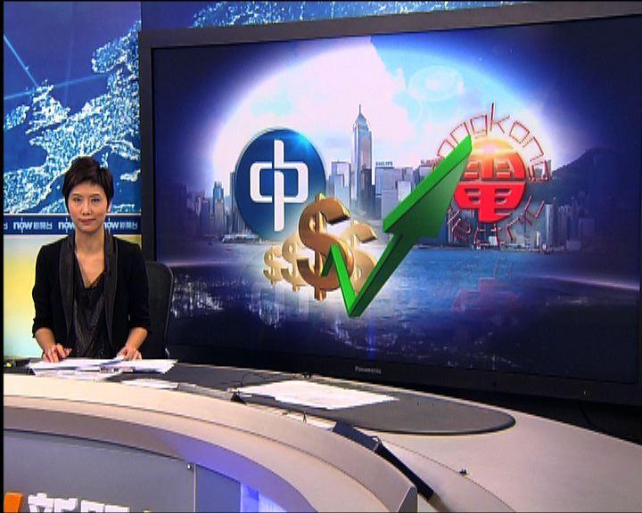 中電港燈承認賺足管制上限