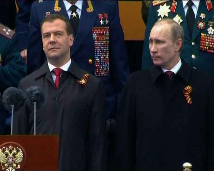 梅德韋傑夫稱不欲與普京爭總統