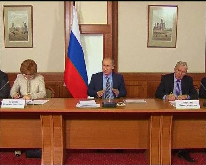 普京重申拒絕重選國家杜馬