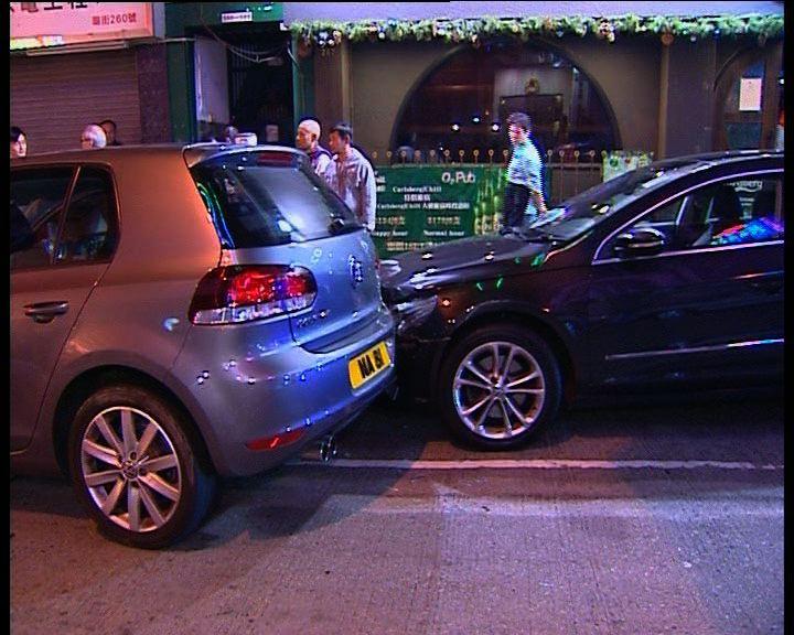 油麻地私家車撞傷過路途人