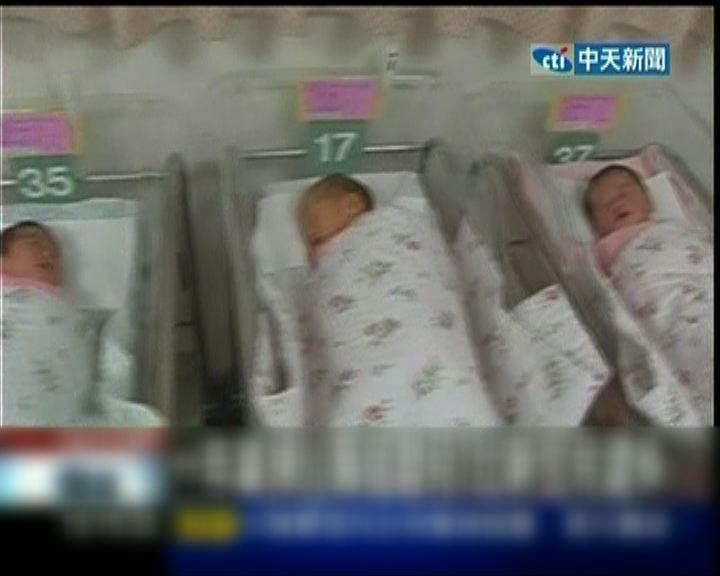 台學者指每年50萬人次墮胎