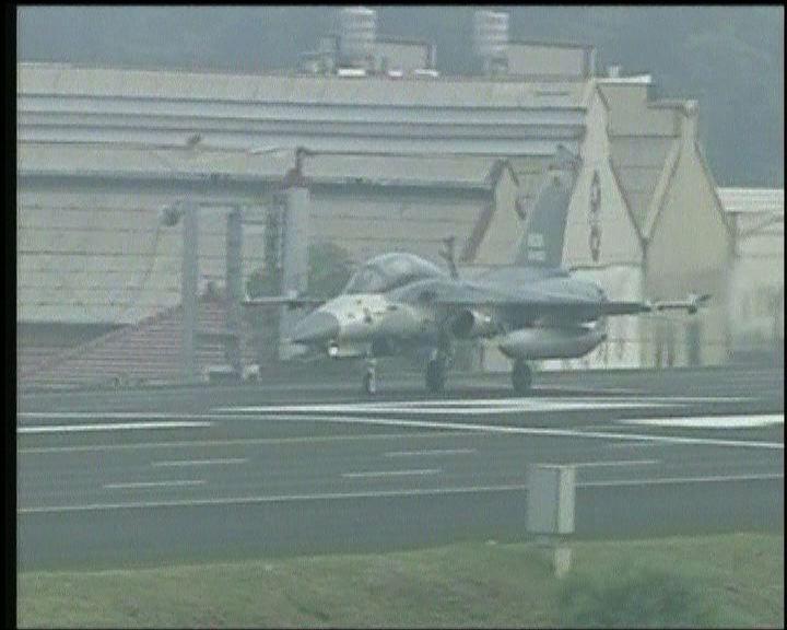 大陸戰機上月底越台海中線