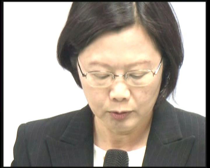 蔡英文遭黨內元老蘇貞昌拒絕出任副手