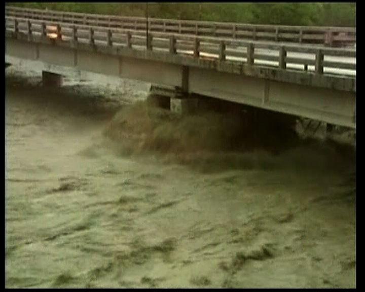 南瑪都風勢減弱豪雨致多處水浸