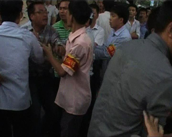 越南首都河內反華示威持續