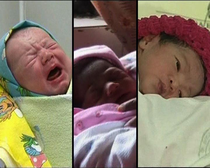 多國爭認第70億出生嬰兒