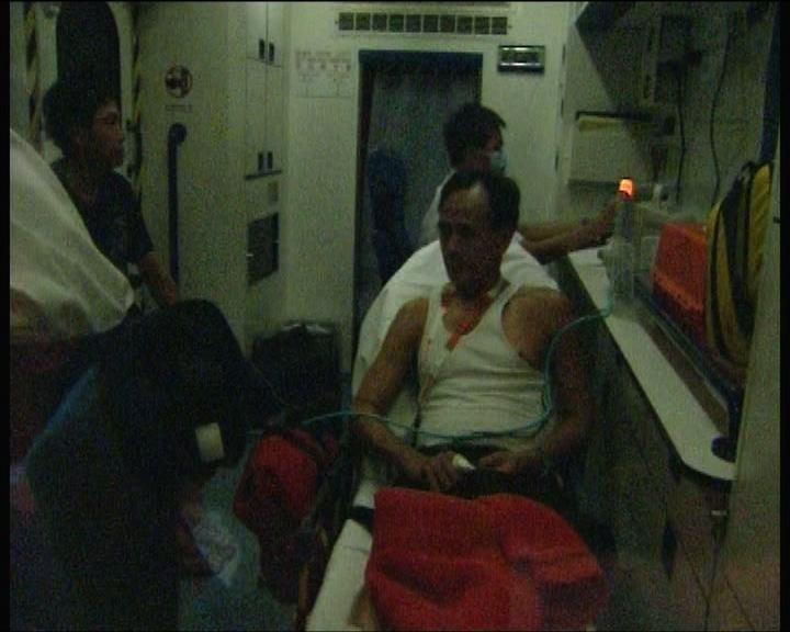 男子持刀襲擊父親及兄長被捕