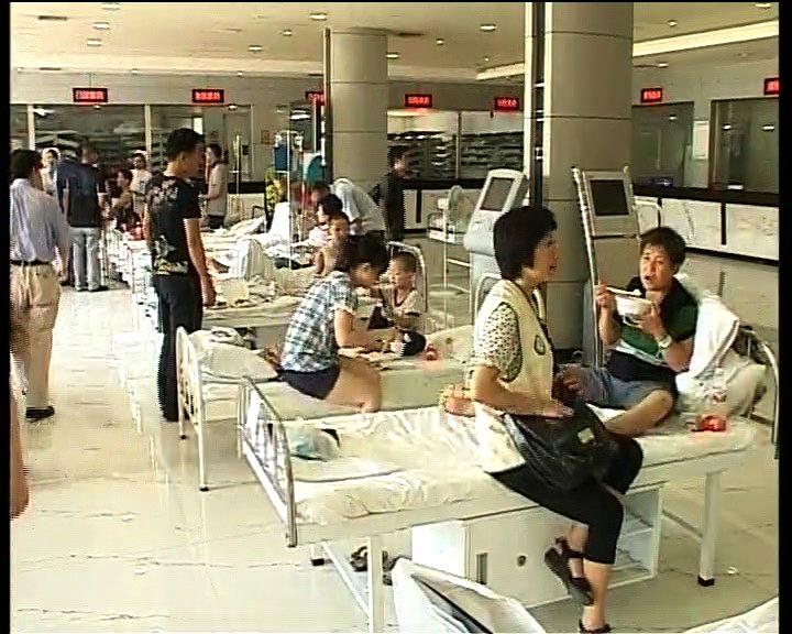 溫州列車事故傷者分送五間醫院治理