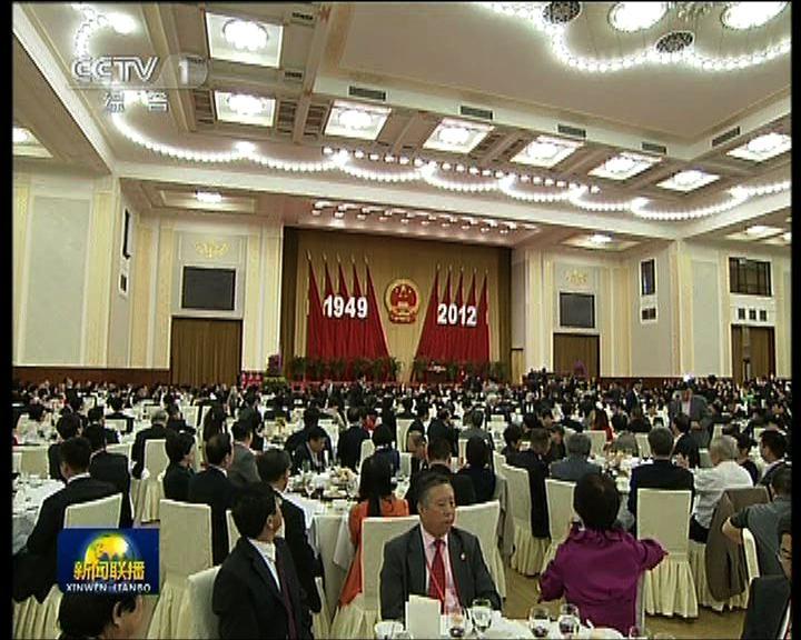 北京舉行國慶招待會多位中共高層出席