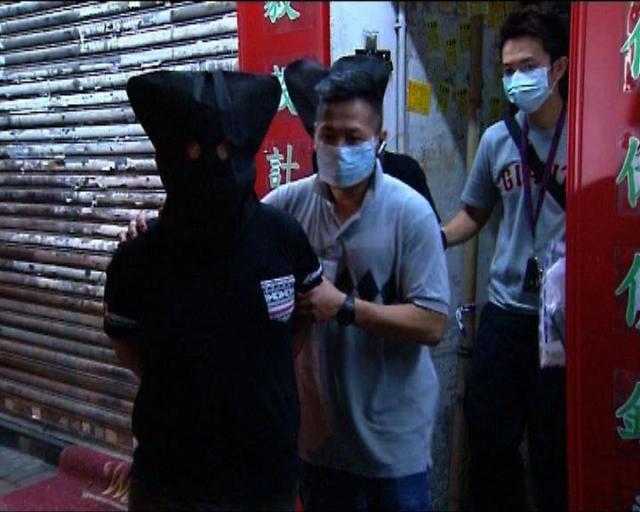 警方西九龍掃毒拘34男女
