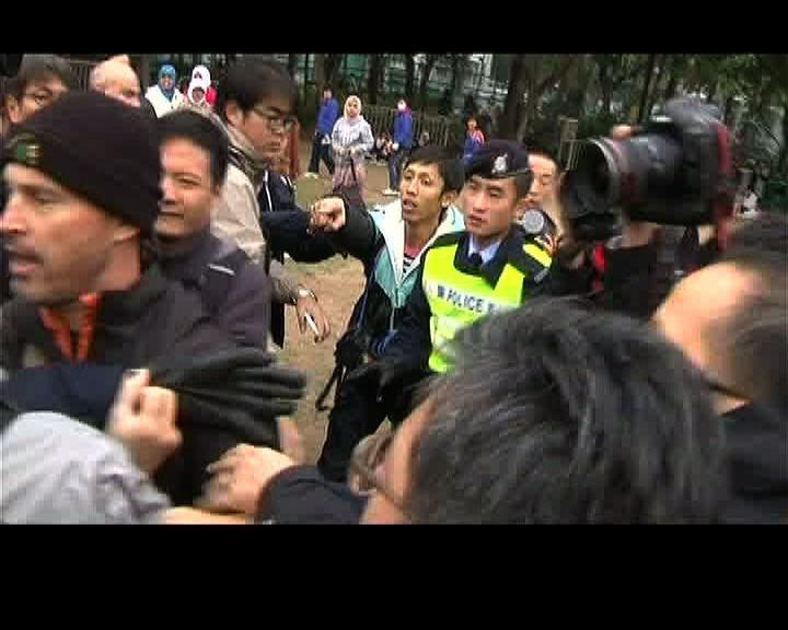 同業譴責襲擊記者行為