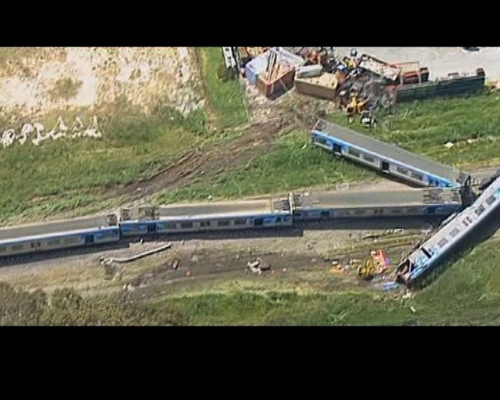澳洲載客火車與貨車相撞釀一死