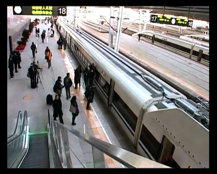京廣鐵路鄭州段下周三投入服務
