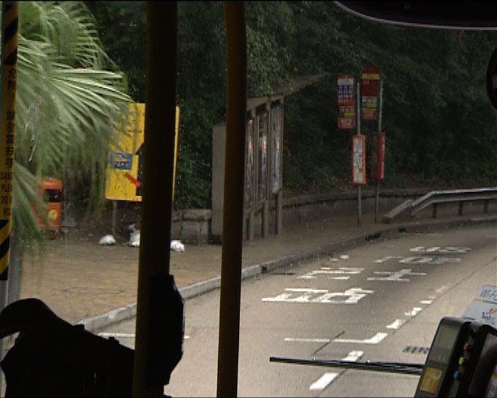 柴灣道設必停站助巴士減速