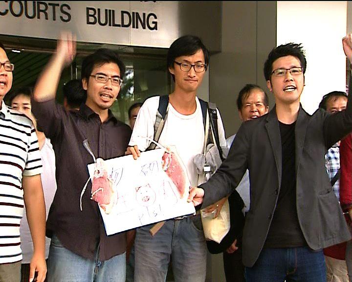 八示威者去年六四非法集結罪成下月判刑